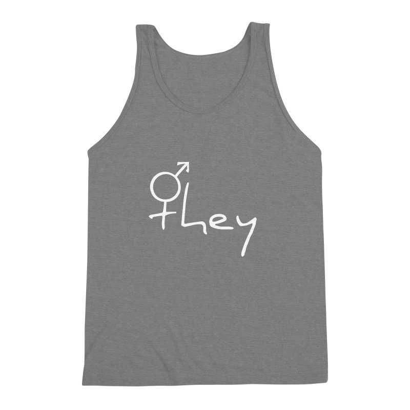 they Men's Triblend Tank by Tilted Windmill's Artist Shop