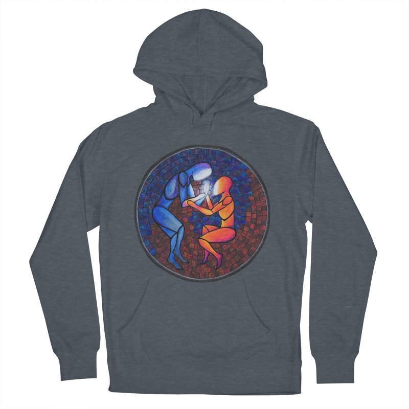 Find Your Heart(h) Men's Pullover Hoody by Tilted Windmill's Artist Shop