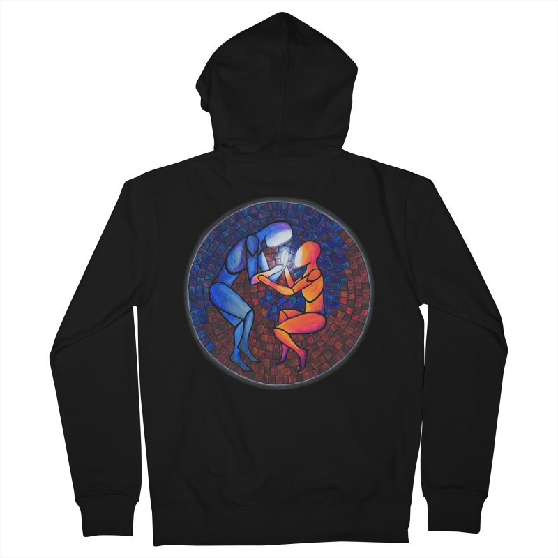 Find Your Heart(h) Men's Zip-Up Hoody by Tilted Windmill's Artist Shop