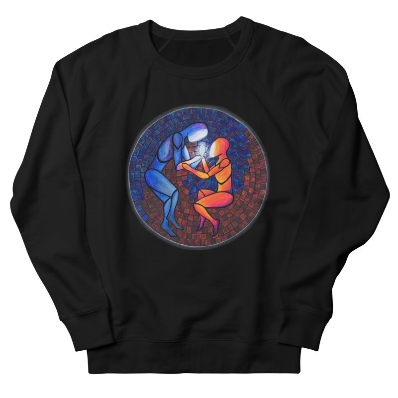 Find Your Heart(h) Women's French Terry Sweatshirt by Tilted Windmill's Artist Shop