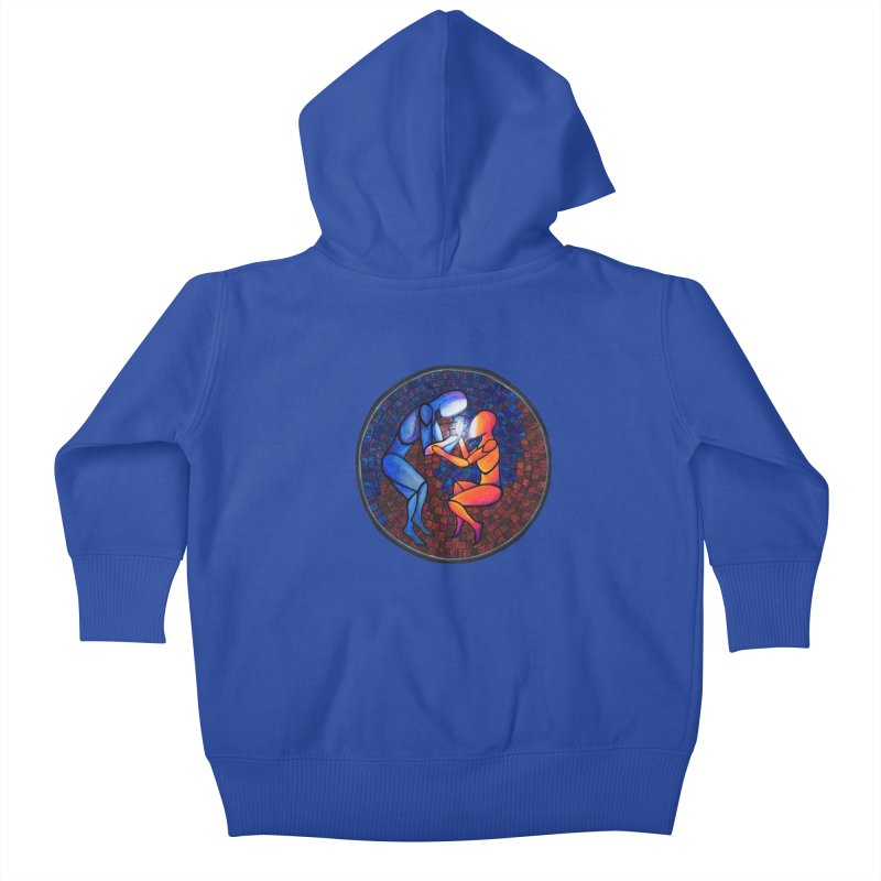 Find Your Heart(h) Kids Baby Zip-Up Hoody by Tilted Windmill's Artist Shop