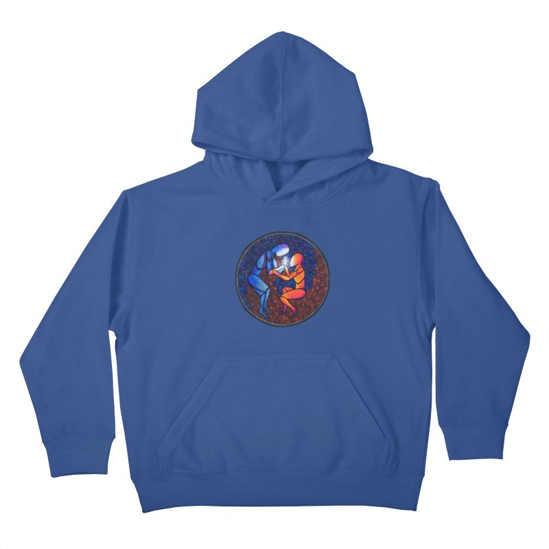 Find Your Heart(h) Kids Pullover Hoody by Tilted Windmill's Artist Shop