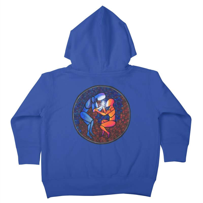 Find Your Heart(h) Kids Toddler Zip-Up Hoody by Tilted Windmill's Artist Shop