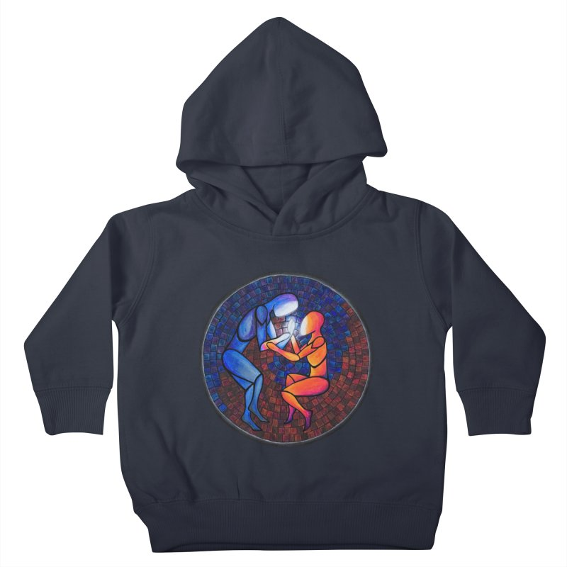 Find Your Heart(h) Kids Toddler Pullover Hoody by Tilted Windmill's Artist Shop