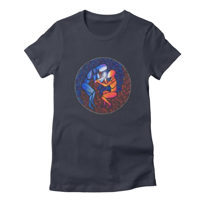 Find Your Heart(h) Women's Fitted T-Shirt by Tilted Windmill's Artist Shop
