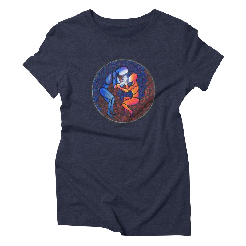 Find Your Heart(h) Women's Triblend T-Shirt by Tilted Windmill's Artist Shop