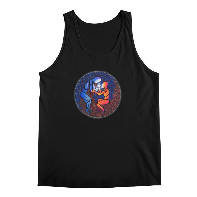 Find Your Heart(h) Men's Tank by Tilted Windmill's Artist Shop
