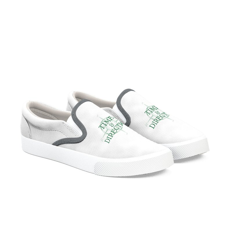 Time & Direction Compass Women's Slip-On Shoes by Time & Direction Wines's Artist Shop