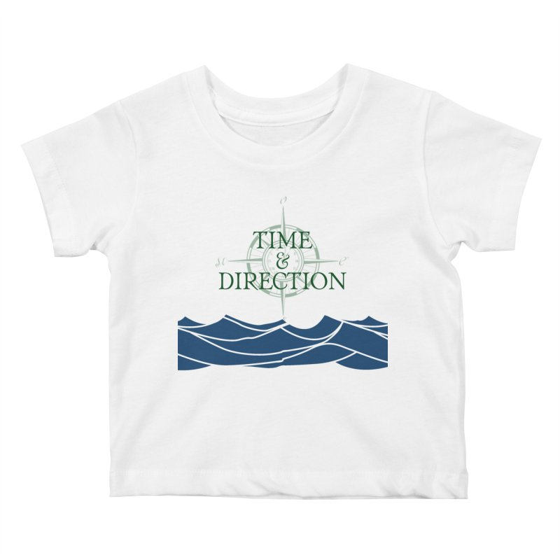 T&D Waves Kids Baby T-Shirt by Time & Direction Wines's Artist Shop