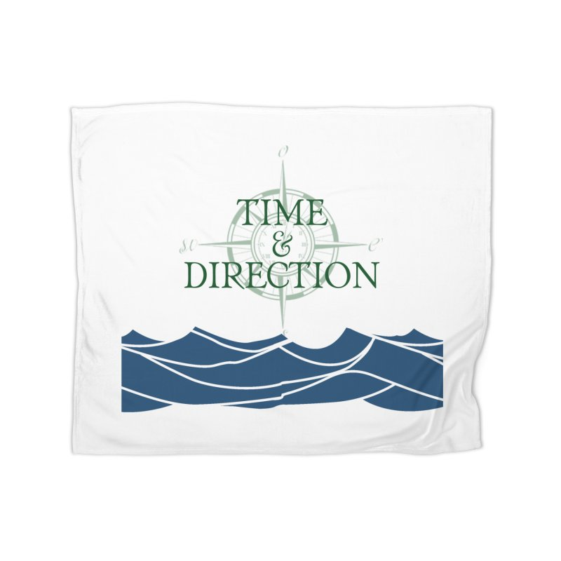 T&D Waves Home Fleece Blanket Blanket by Time & Direction Wines's Artist Shop