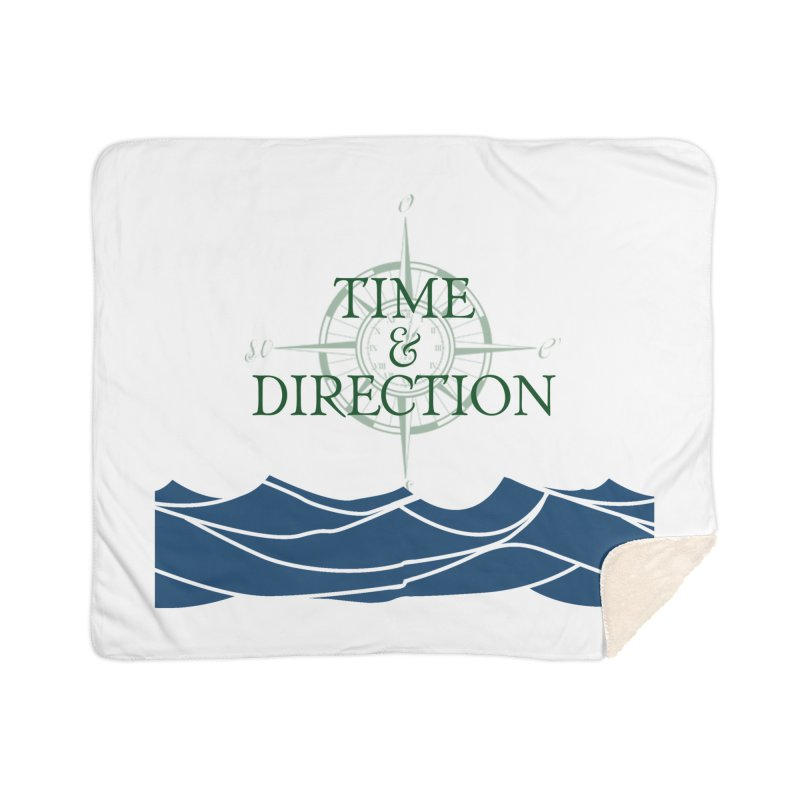 T&D Waves Home Sherpa Blanket Blanket by Time & Direction Wines's Artist Shop