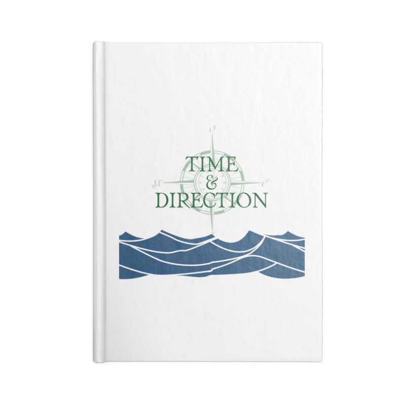 T&D Waves Accessories Lined Journal Notebook by Time & Direction Wines's Artist Shop