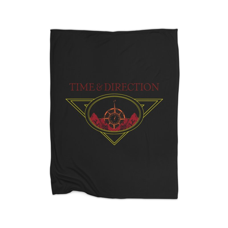 Sunrise Home Fleece Blanket Blanket by Time & Direction Wines's Artist Shop