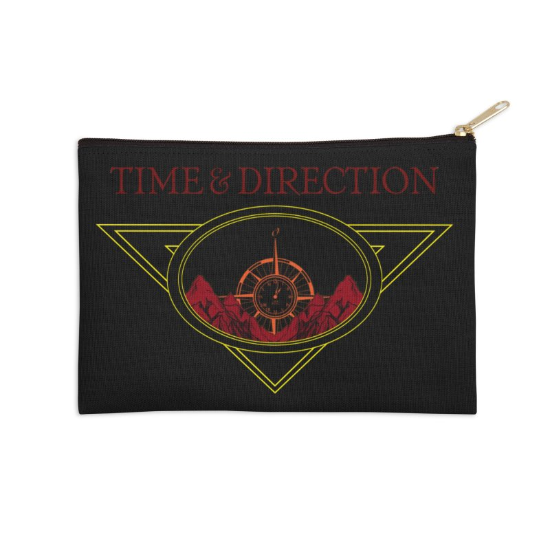 Sunrise Accessories Zip Pouch by Time & Direction Wines's Artist Shop