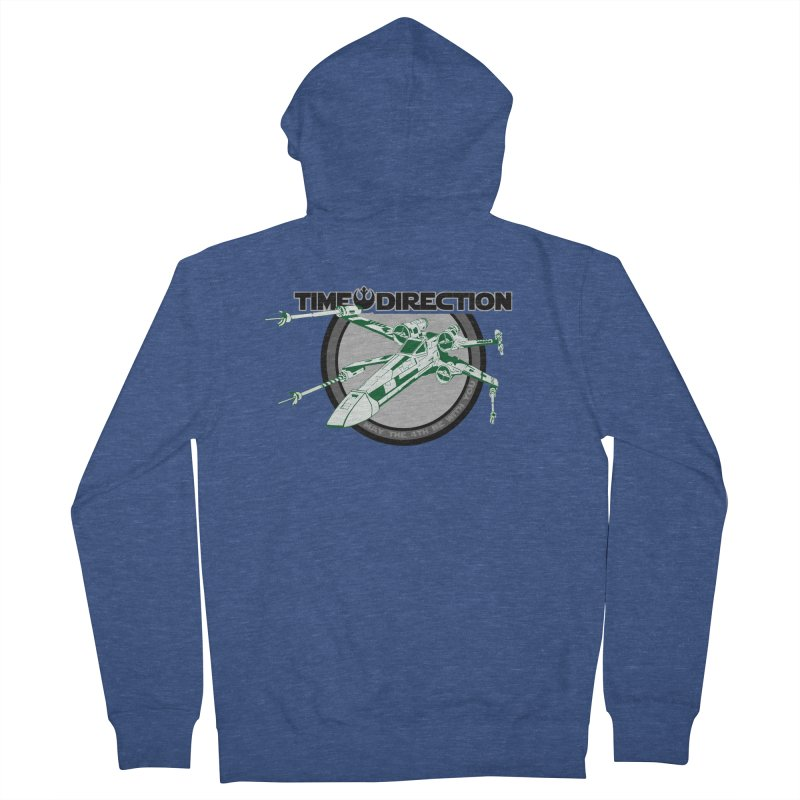 X-Wing Women's French Terry Zip-Up Hoody by Time & Direction Wines's Artist Shop