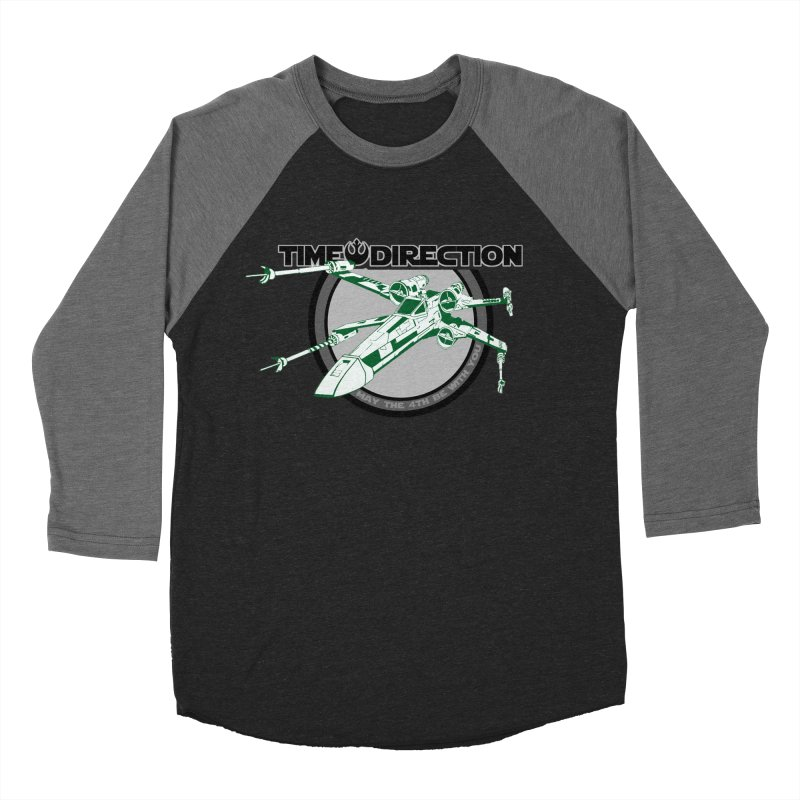 X-Wing Men's Baseball Triblend Longsleeve T-Shirt by Time & Direction Wines's Artist Shop