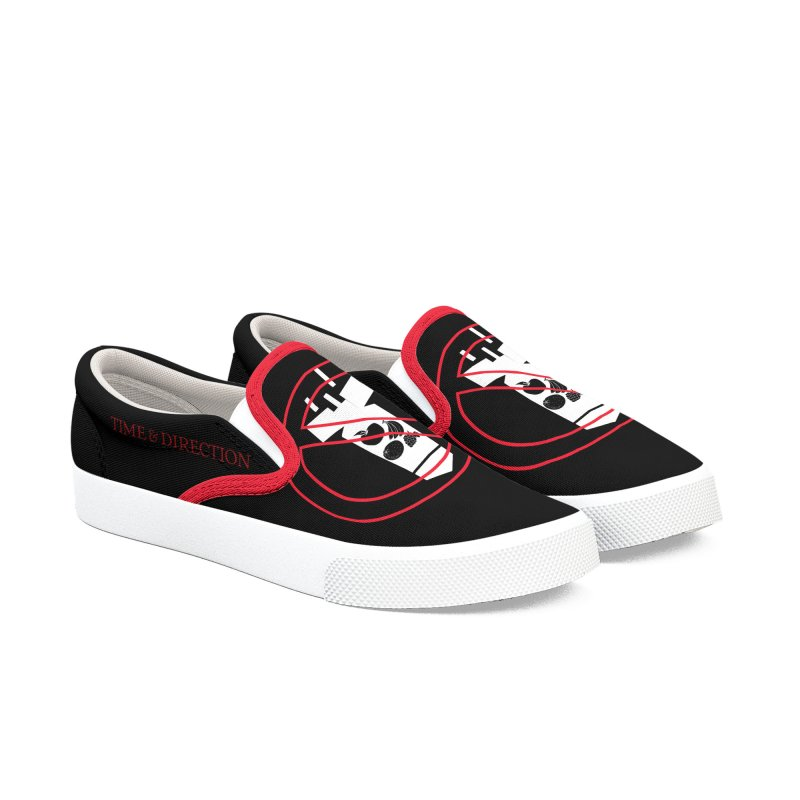 No Fruit Bombs Men's Slip-On Shoes by Time & Direction Wines's Artist Shop