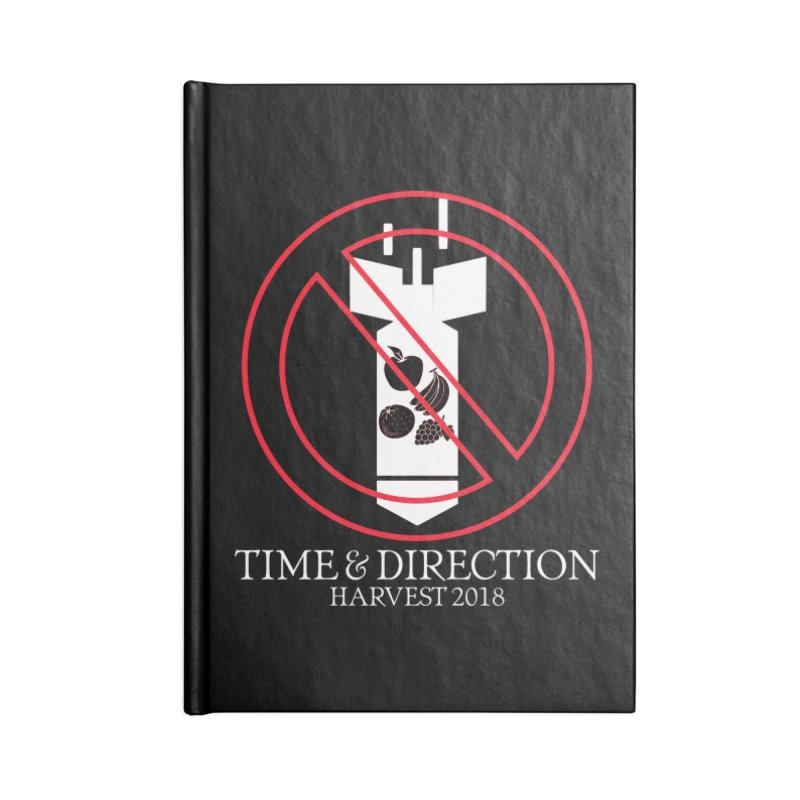 No Fruit Bombs Accessories Lined Journal Notebook by Time & Direction Wines's Artist Shop