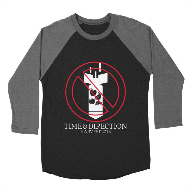 No Fruit Bombs Men's Baseball Triblend Longsleeve T-Shirt by Time & Direction Wines's Artist Shop