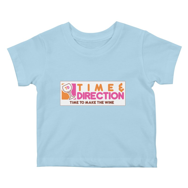 America Runs on T&D Kids Baby T-Shirt by Time & Direction Wines's Artist Shop