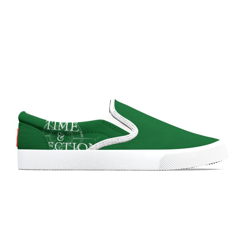 Green Shoes Men's Shoes by Time & Direction Wines's Artist Shop