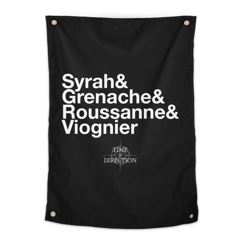 Helvetica Ampersand Home Tapestry by Time & Direction Wines's Artist Shop