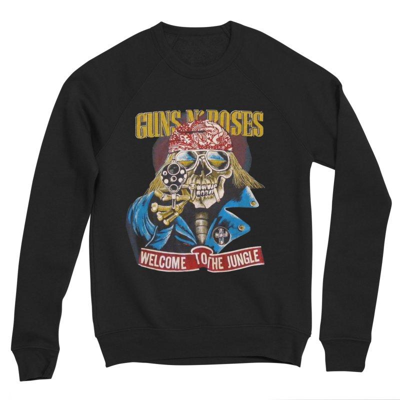 Jungle Men's Sponge Fleece Sweatshirt by Time & Direction Wines's Artist Shop