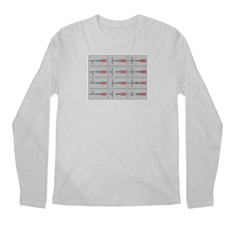UpUpDownDown Men's Regular Longsleeve T-Shirt by Time & Direction Wines's Artist Shop