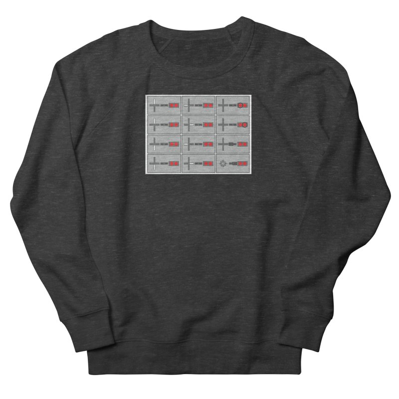 UpUpDownDown Men's French Terry Sweatshirt by Time & Direction Wines's Artist Shop