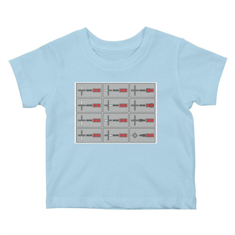 UpUpDownDown Kids Baby T-Shirt by Time & Direction Wines's Artist Shop
