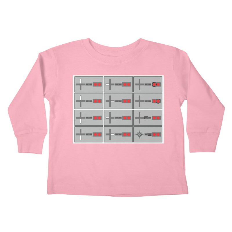 UpUpDownDown Kids Toddler Longsleeve T-Shirt by Time & Direction Wines's Artist Shop