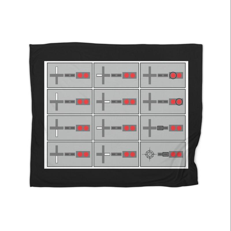 UpUpDownDown Home Fleece Blanket Blanket by Time & Direction Wines's Artist Shop