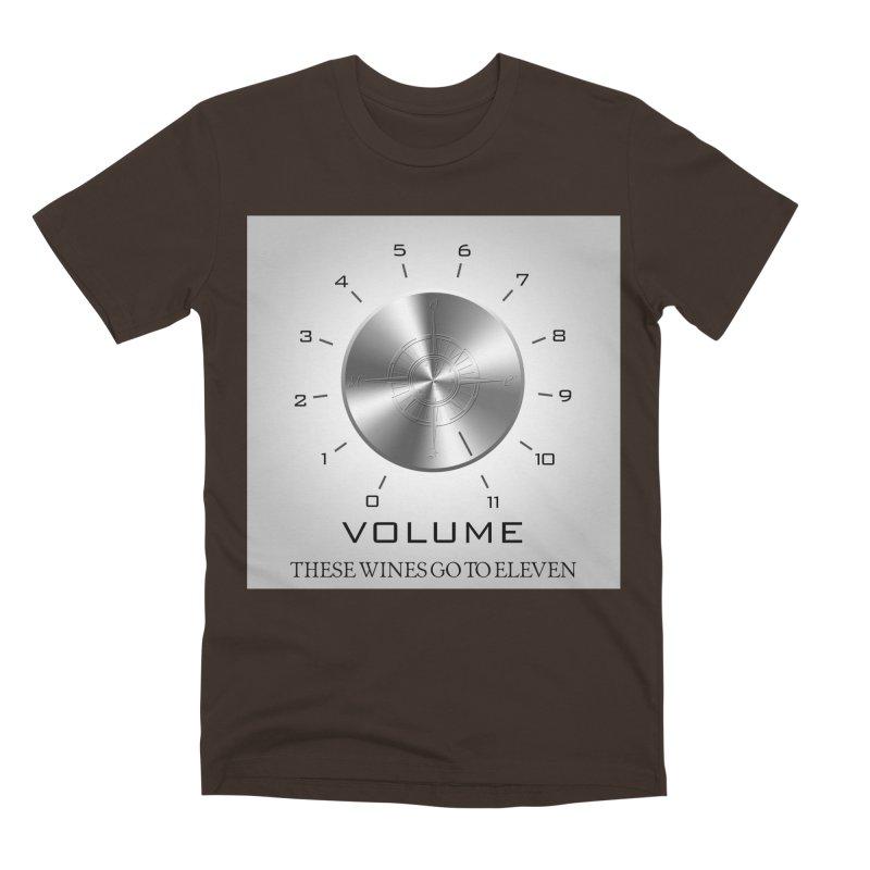 Eleven Men's Premium T-Shirt by Time & Direction Wines's Artist Shop
