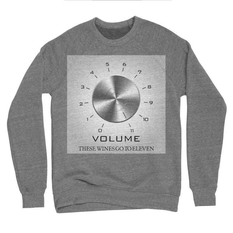 Eleven Men's Sponge Fleece Sweatshirt by Time & Direction Wines's Artist Shop