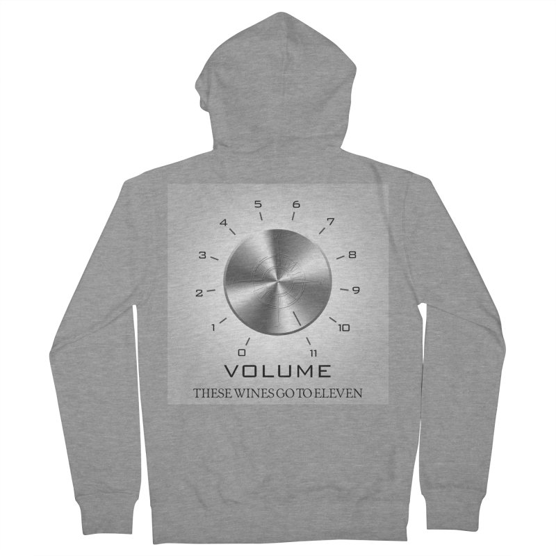 Eleven Women's French Terry Zip-Up Hoody by Time & Direction Wines's Artist Shop