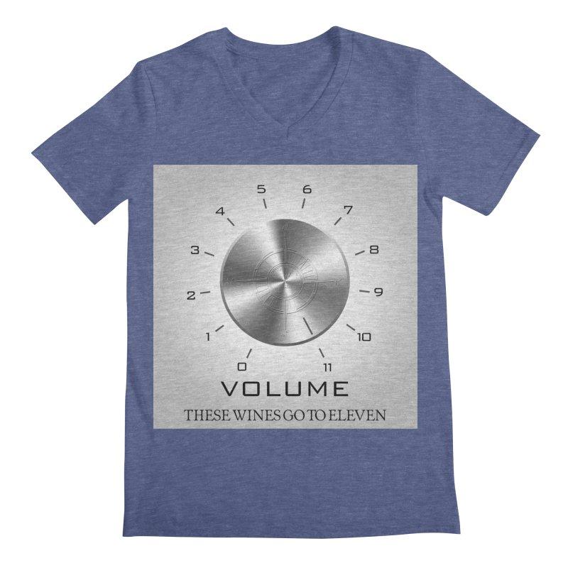 Eleven Men's Regular V-Neck by Time & Direction Wines's Artist Shop