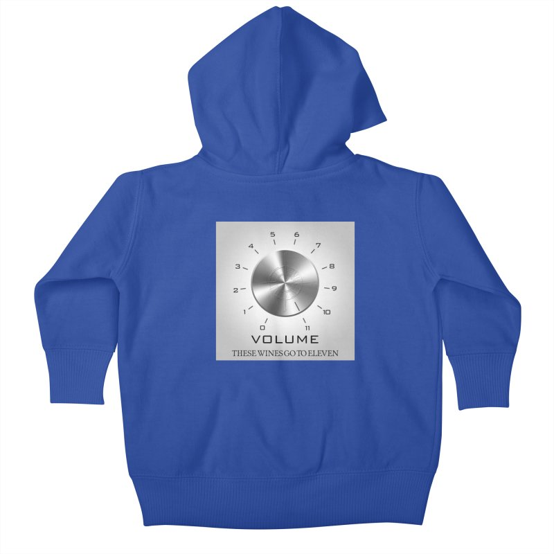 Eleven Kids Baby Zip-Up Hoody by Time & Direction Wines's Artist Shop