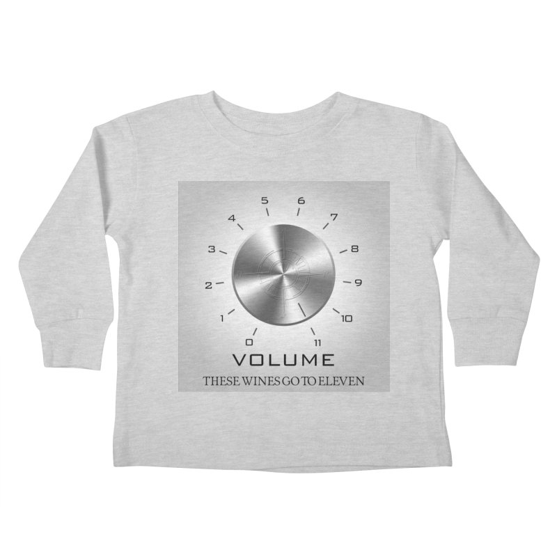 Eleven Kids Toddler Longsleeve T-Shirt by Time & Direction Wines's Artist Shop