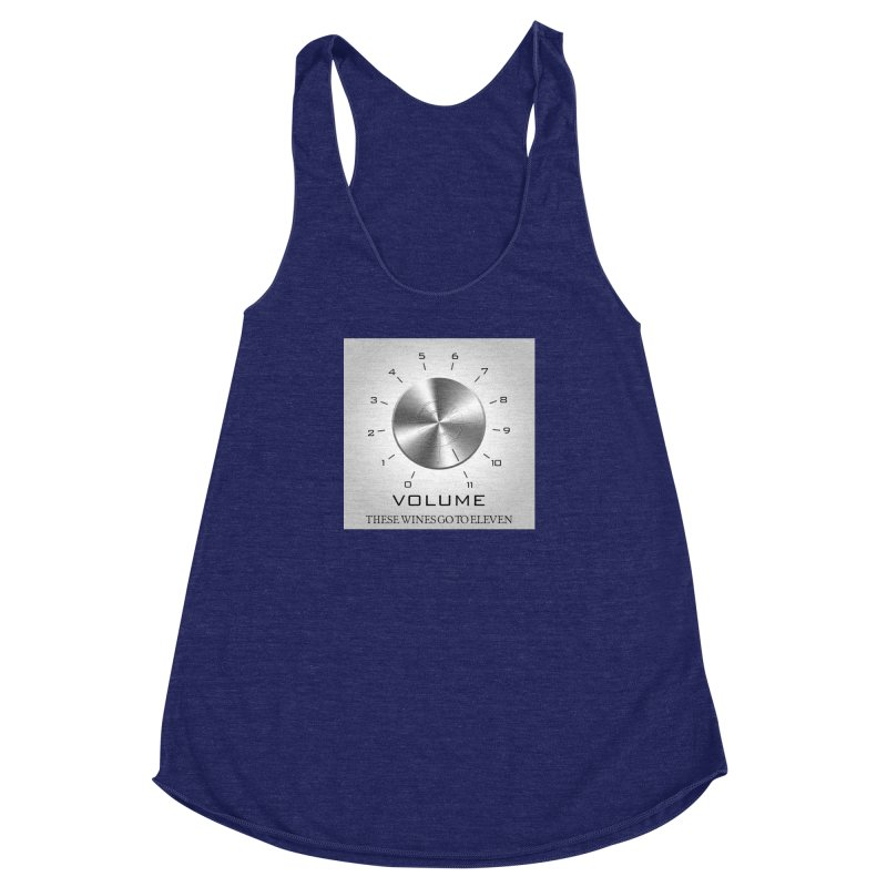 Eleven Women's Racerback Triblend Tank by Time & Direction Wines's Artist Shop