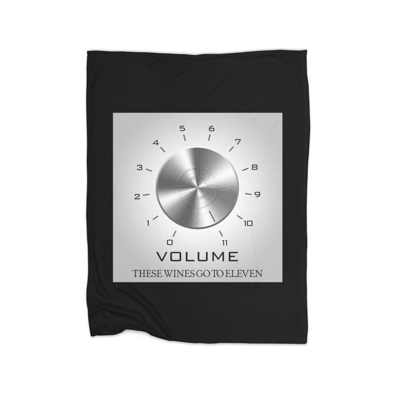 Eleven Home Fleece Blanket Blanket by Time & Direction Wines's Artist Shop