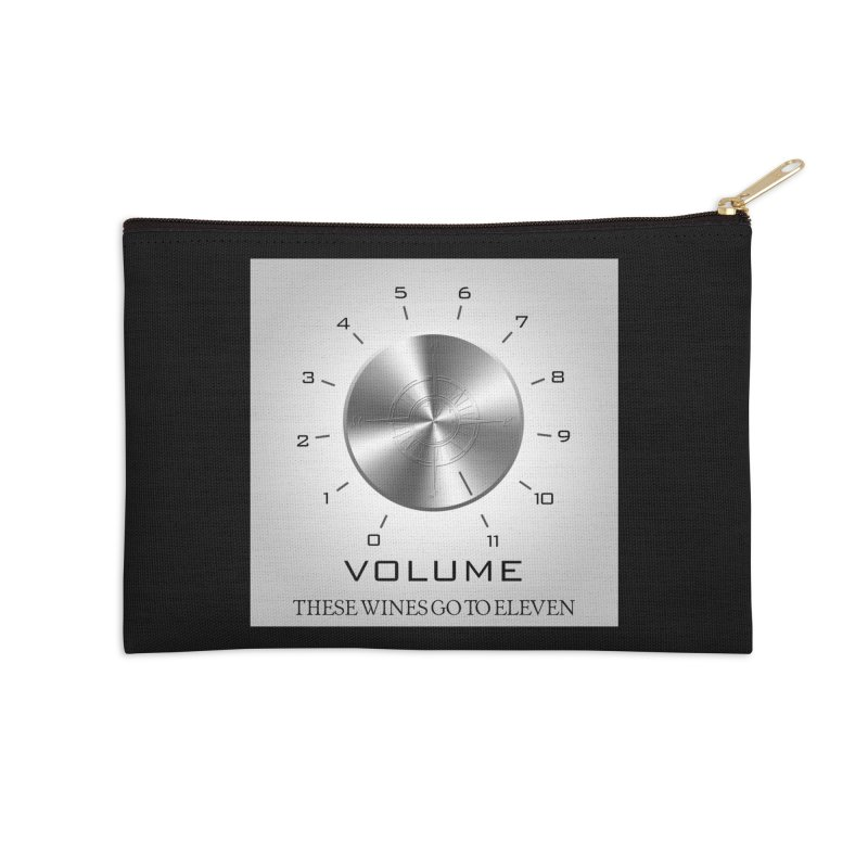 Eleven Accessories Zip Pouch by Time & Direction Wines's Artist Shop