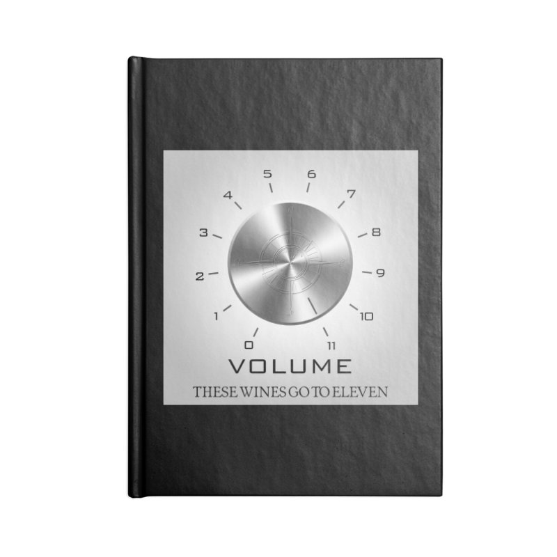 Eleven Accessories Lined Journal Notebook by Time & Direction Wines's Artist Shop