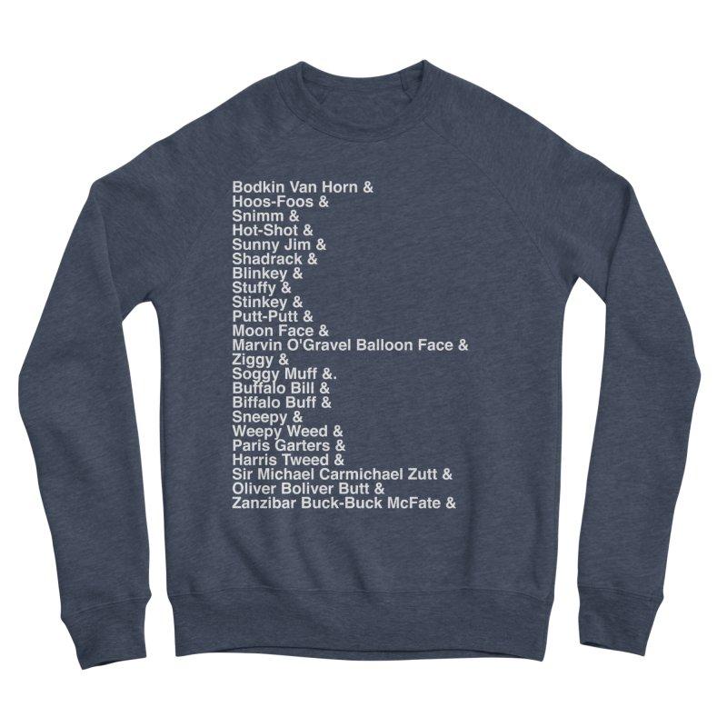 Too Many Daves Helvetica Men's Sponge Fleece Sweatshirt by Time & Direction Wines's Artist Shop