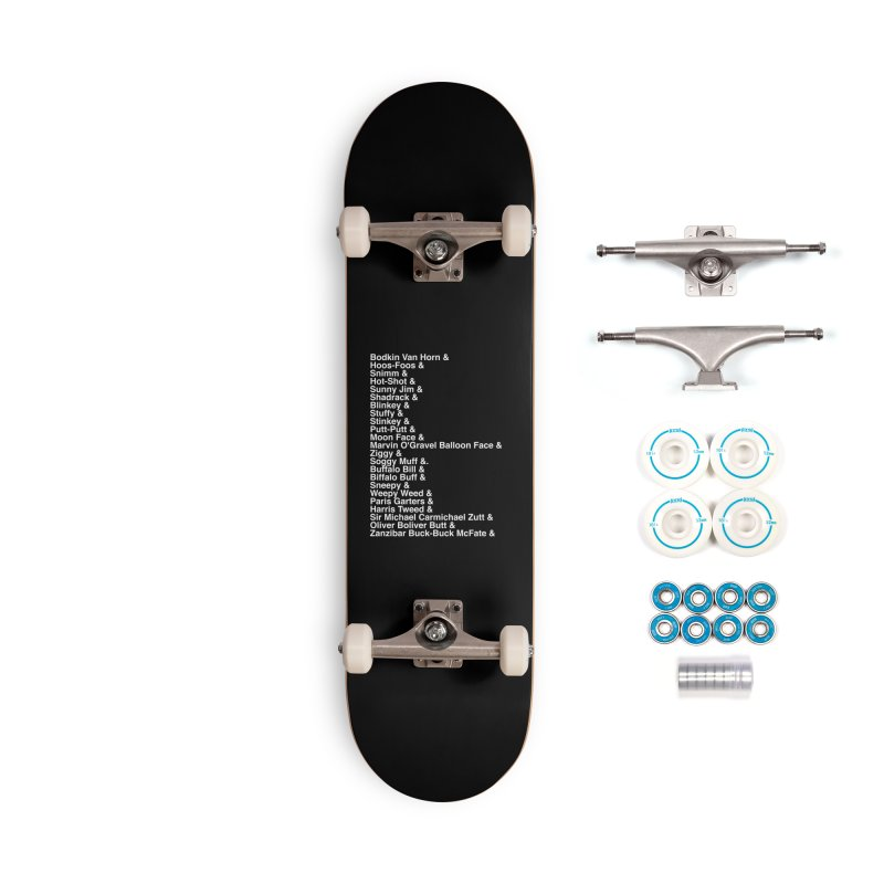 Too Many Daves Helvetica Accessories Complete - Basic Skateboard by Time & Direction Wines's Artist Shop