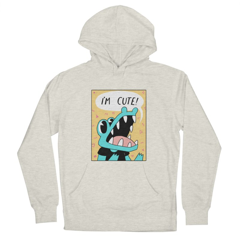 I'M CUTE! Women's Pullover Hoody by GOOD AND NICE SHIRTS