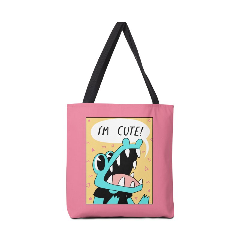 I'M CUTE! Accessories Bag by GOOD AND NICE SHIRTS