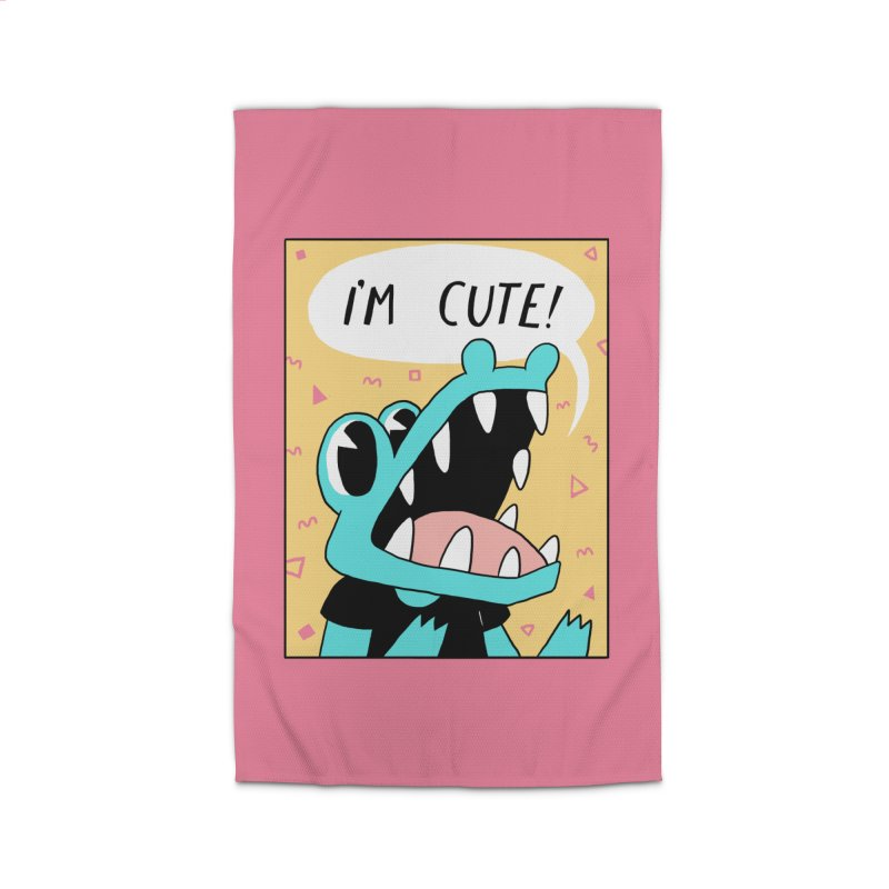 I'M CUTE! Home Rug by GOOD AND NICE SHIRTS