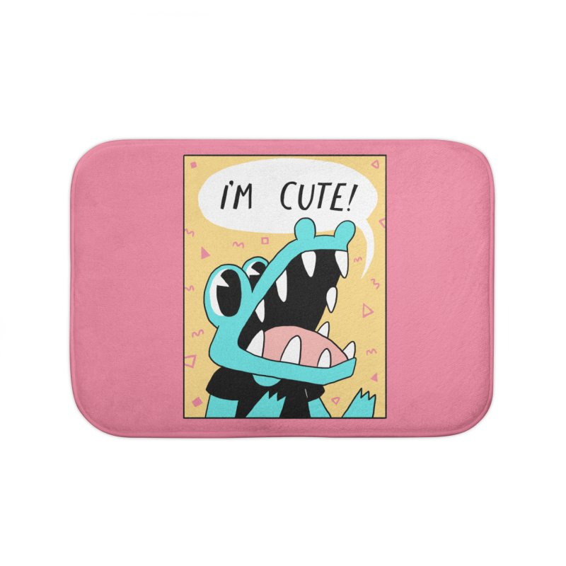 I'M CUTE! Home Bath Mat by GOOD AND NICE SHIRTS