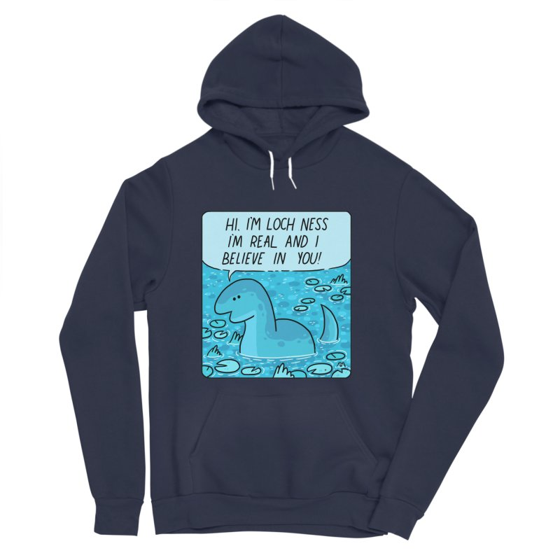 LOCH NESS BELIEVES IN YOU Men's Sponge Fleece Pullover Hoody by GOOD AND NICE SHIRTS