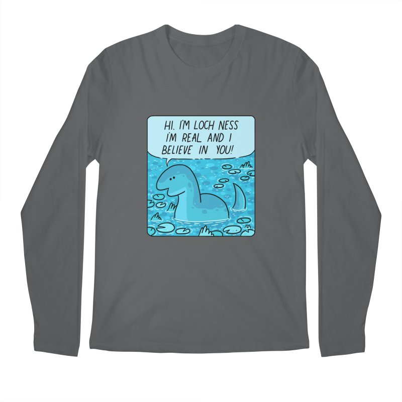 LOCH NESS BELIEVES IN YOU Men's Longsleeve T-Shirt by GOOD AND NICE SHIRTS
